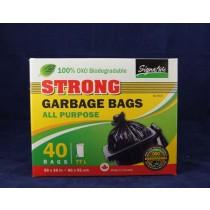 Garbage Bags - Black ~ 40 per box