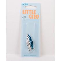 Little Cleo - 1/4oz ~ Hammered Nickel Blue