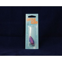 Little Cleo - 1/4oz ~ Hammered Purple Blue