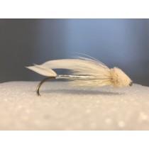 White Muddler Streamer