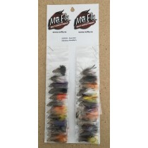 Assorted Marabou Muddler Streamer Flies