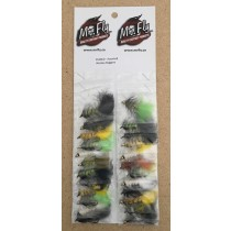 Assorted Wooley Bugger Streamer Flies