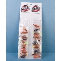 Assorted Salmon Bombers Flies