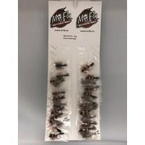 Assorted Salmon Bee Salmon Bugs