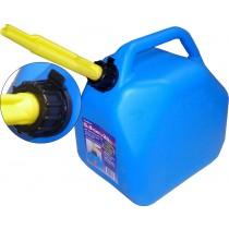 Kerosene Blue Gas Cans ~ 20L / 5 Gal ~ 4 per sleeve
