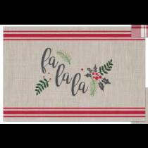 Christmas Textilene Placemats ~ Christmas Carol