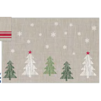 Christmas Textilene Placemats ~ Winter Wonderland