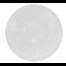 "Chef Elite Plastic Round Dome Lid - 16"" dia"