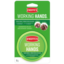 O'Keeffe's Working Hands - 3.4oz Jar Carded ~ 6 per clipstrip display