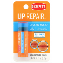 O'Keeffe's Lip Repair Cooling Relief Lip Balm - 4.2gr stick~ 6 per counter display