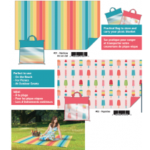Picnic Blanket with Carry Bag ~ 100% expanded polyethylene