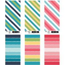 Striped Beach Towels ~ 6 assorted