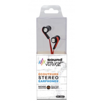 Noise Reduction Earbuds w/Flat Wire