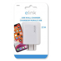 eLink Universal Cube USB Wall Charger ~ 2.1A