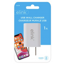 eLink Universal Cube USB Wall Charger ~ 1A