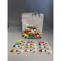Shad Darts 1/4oz - Assorted Colors ~ 144 per bag
