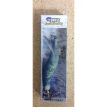 "Squid Hook'r Fish Shape Jig - 3-1/4"" / 8cm ~ Blue"