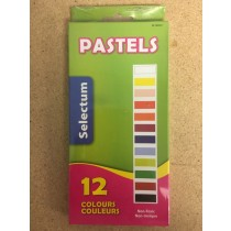 Selectum Chalk (Dry) Pastels - Dustless ~ 12 per pack