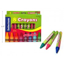 Selectum Jumbo Crayons ~ 8 per pack