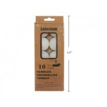Selectum Tealight Candles ~ 10 per pack