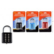 Selectum Push Button Colored Combination Padlock ~ 74 x  39 x 15mm