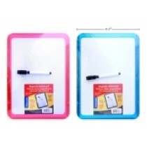 """Magnetic Whiteboard {Dry Erase} with Marker ~ 8"""" x 11.5"""""""