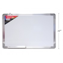 "Selectum High Quality Magnetic Whiteboard {Dry Erase} with Aluminum Boarder ~ 11.88"" x 17.7"""
