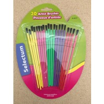 Paint Brushes for Water Colors ~ 20 per pack