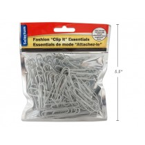 Paper Clips {50mm} - Silver ~ 80 per pack