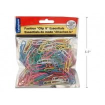 Selectum Colored Paper Clips - 28mm ~ 250 per pack