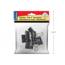 "Selectum Binder Clip - 1"" ~ 8 per pack"