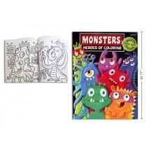 Mega Monsters Coloring Book