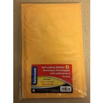 "Kraft Bubble Envelopes 8.5"" x 13"" - Peel N Seal ~ 2 per pack"