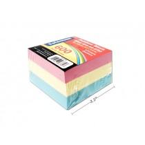 Selectum Rainbow Memo Cube ~ 600 sheets