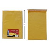 "Selectum Kraft Peel-N-Seal Bubble Envelope ~ 10.5"" x 15"""