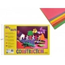 "Construction Paper Pad - 18"" x 12""  ~ 18 sheets"