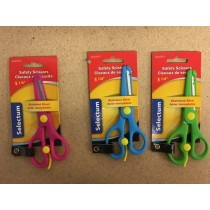 Selectum Kid's Safety Scissors ~ 5-1/4""