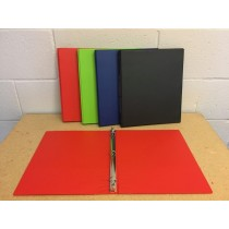 Selectum Hard Cover Vinyl 3-Ring Binder + Pockets ~ 0.5""