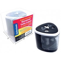 Selectum Battery Operated 2-Hole Pencil Sharpener