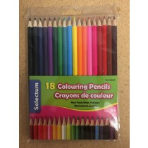 Selectum Colored Pencils ~ 18 per pack