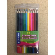 Selectum Colored Pencils ~ 12 colors