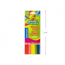 Selectum Erasable Colored Pencils ~ 10 per pack