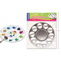 Selectum Round Metal Paint Palette