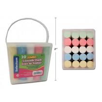 Sidewalk Chalk ~ 20 pieces per bucket