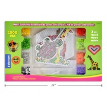 Selectum Pearl Beads Craft Kit ~ 2000 pieces