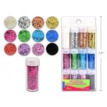 Selectum Glitter Shakers ~ 12 per pack
