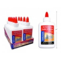 Selectum White School Glue - 118ml / 4oz ~ Display of 12