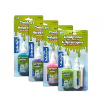 Selectum Cloudy Snow Slime Solution Kit