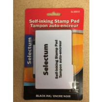 Selectum Black Ink Stamp Pad
