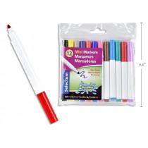 Selectum Mini Washable Markers ~ 12 per pack